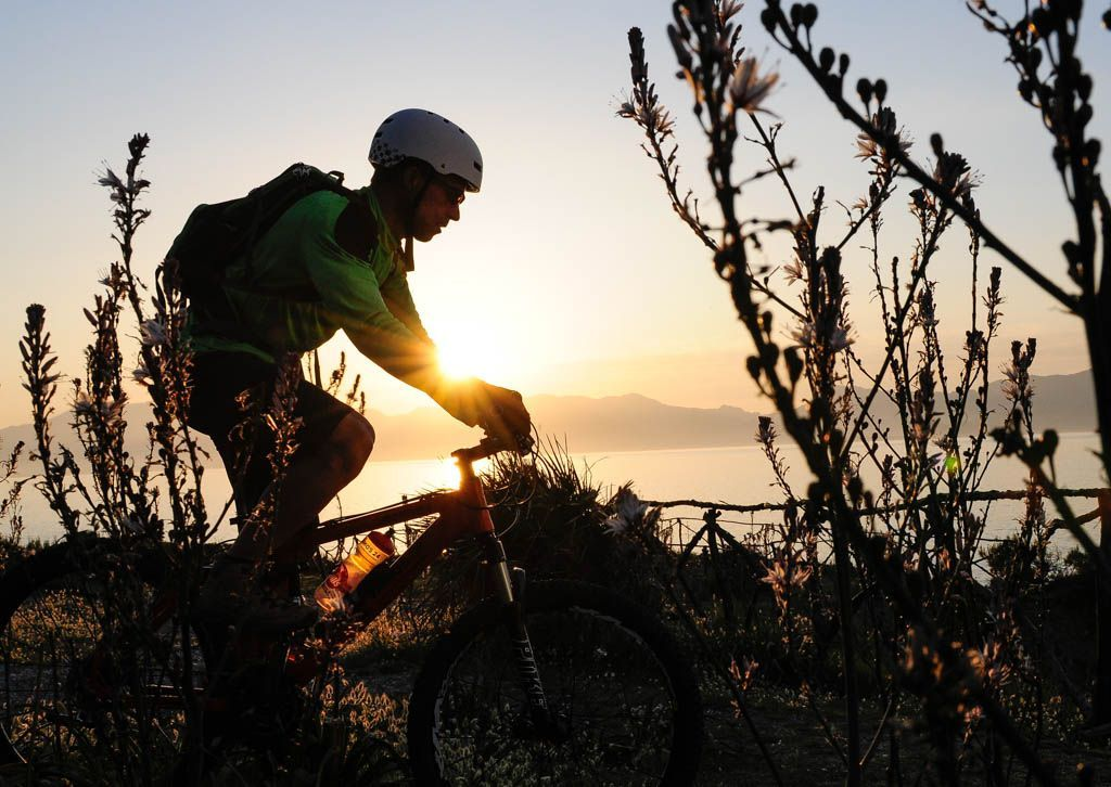 Sunset Biking Majorca