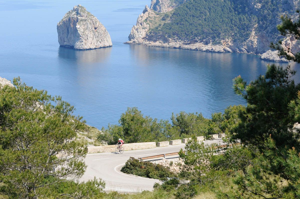 unics-event-cycling-Majorca - Formentor