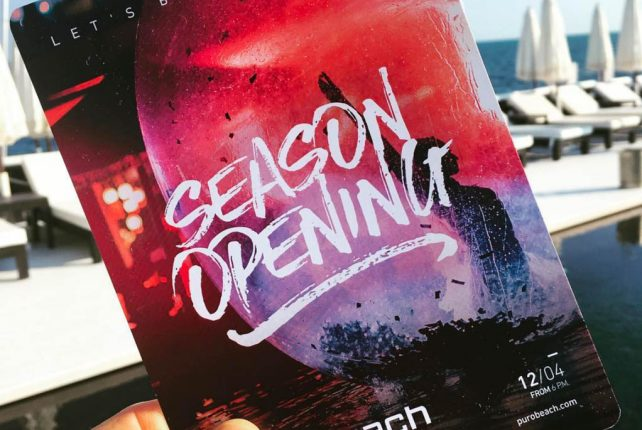 Beach Club Opening Season Party 2019