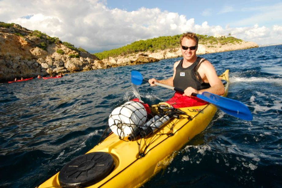 Sea kayaking Majorca