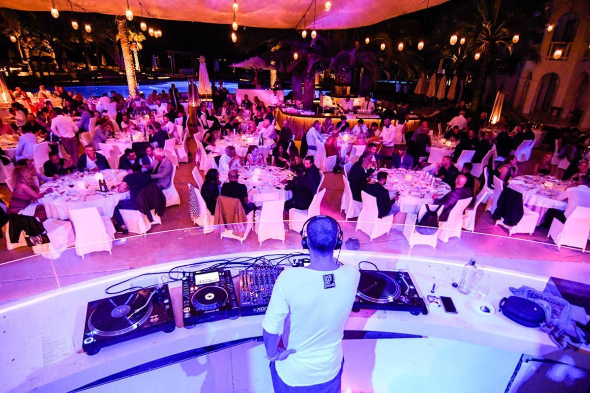 Event location ibiza gala dinner with dj