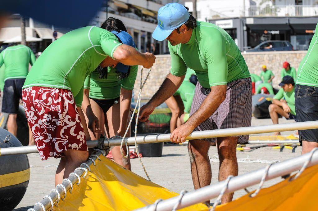 Sea Raft team building