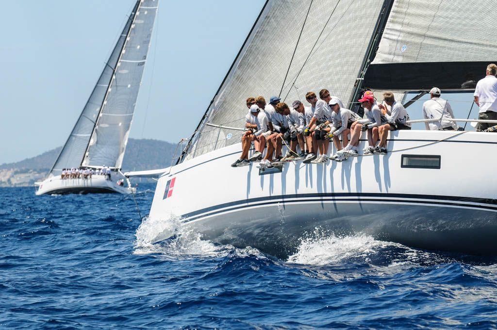 Sailing race Palma