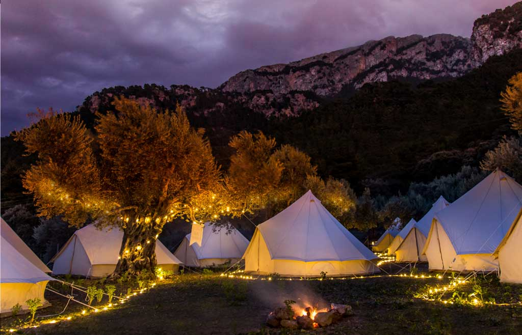 Experiencias sostenibles para grupos en Mallorca. Glamping Mallorca